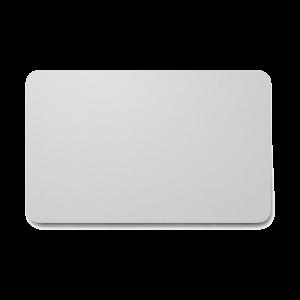 Karty plastikowe srebrne